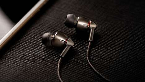 Trailblazing In-Ear Headphones