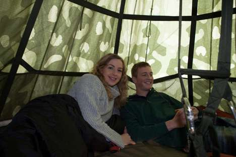Dangling Tree Tents