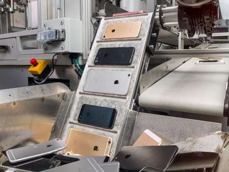 Rigorous Recycling Robots - The 'Daisy' Robot Can Precisely Disassemble Up to 200 iPhones Per Hour