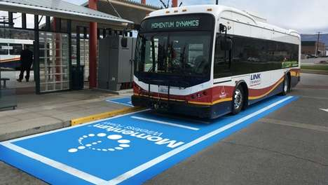 Seamless Electric Bus Chargers - This E-Bus Charging System Doesn't Interfere With Bus Routes