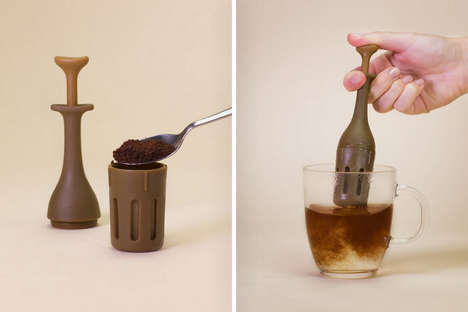 Pocket-Sized Coffee Makers - The Mini Coffee Press is Touted as the World's Most Portable