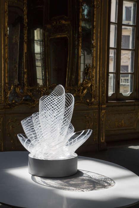 Nest-Like Glass Vases