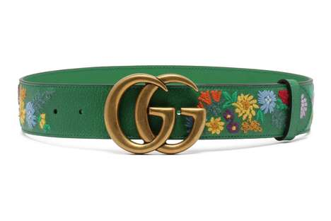 Embroidered Spring Belts