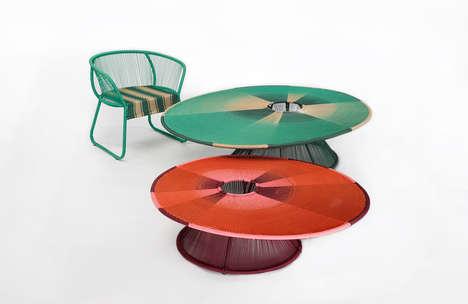 Handwoven Vibrant Furniture