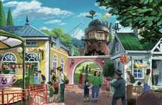 Creative Theme Park Visualizations