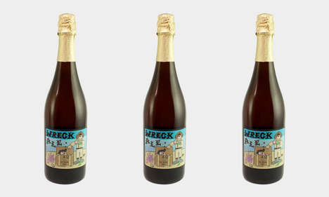 Shipwreck-Inspired Beers - The Mikkeller Wreck Ale is Inspired by Beers Lost at Sea