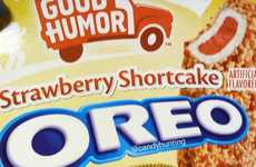 Ice Cream Bar Cookies - Oreo's Newest Flavor is Inspired by Good Humor's Strawberry Shortcake Bars
