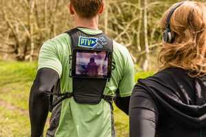 TV-Equipped Running Coaches