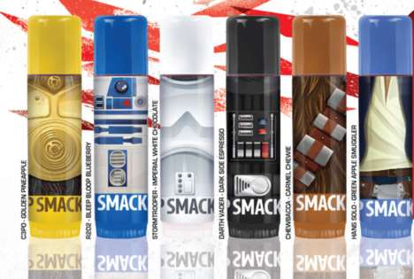 Sci-Fi Pout Protectors - The New Star Wars x Lip Smacker Collection Keeps Lips Extra-Moisturized