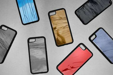 Car Wreckage Smartphone Cases - The Volkswagen Crashed Cases Warn Against Texting and Driving