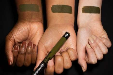 Olive Green Lipstick Offerings