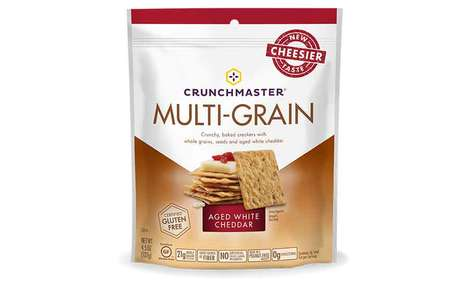 Artisan Flavor Cracker Ranges - The New Crunchmaster Crackers Acknowledge Changing Consumer Tastes