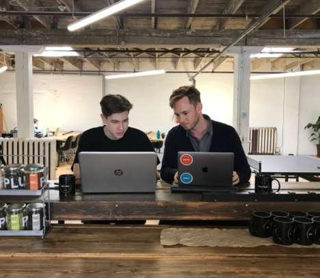 Vibrant Open-Concept Workspaces