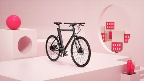 Experiential Next-Gen Electric Bikes - The Cowboy Bike Offers High-Tech Features