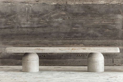 Italian Limestone-Crafted Furniture