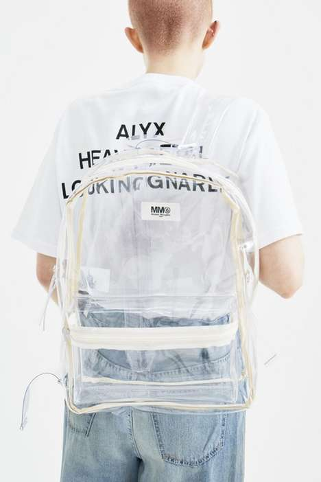 Luxe PVC Backpacks