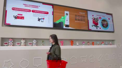 Futuristic Cashierless Stores - Alibaba's 'Futuremart' is a High-Tech Cashierless Store in China