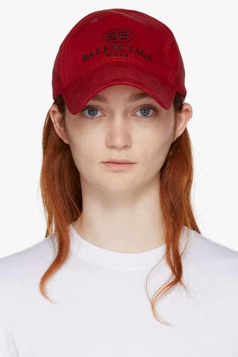 Luxe Designer Baseball Caps