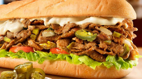 Jalapeno Cheesesteak Sandwiches