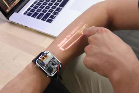 Projected Arm-Based Interfaces