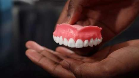 Anti-Fungal Printed Dentures - These 3D-Printed Dentures Feature Infection-Fighting Medication