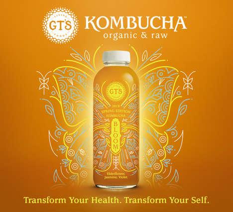 Empowering Kombucha Beverages