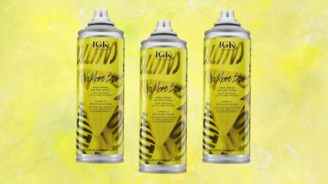 Hair Dry-Speeding Sprays - The No More Blow Spray Cuts Down on Drying Time