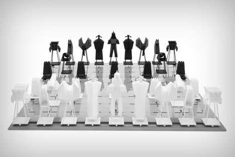 Polygonal Chess Sets