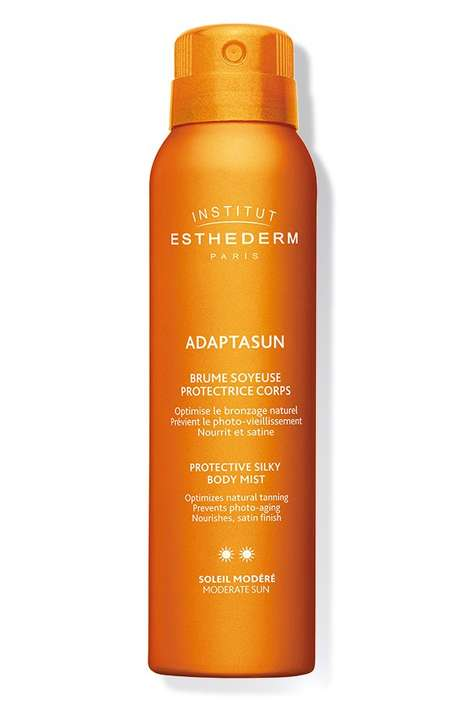 Shimmering UV Protection Mists - Institut Esthederm's Adaptasun Protective Body Mist Shields Skin