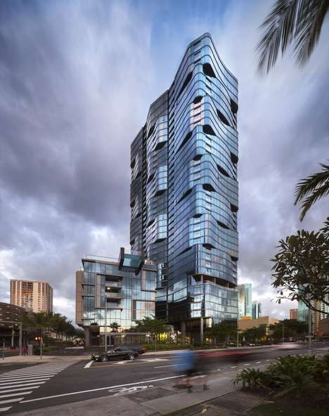 Shimmering Multifaceted Towers