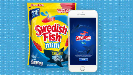 Shark-Themed Candy Campaigns