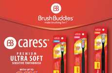 Ultra-Soft Toothbrushes - Brush Buddies' 'Caress' Provides a Toothbrush for Sensitive Teeth