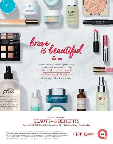 Charitable Makeup Campaigns