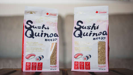 Sushi-Grade Quinoa Products