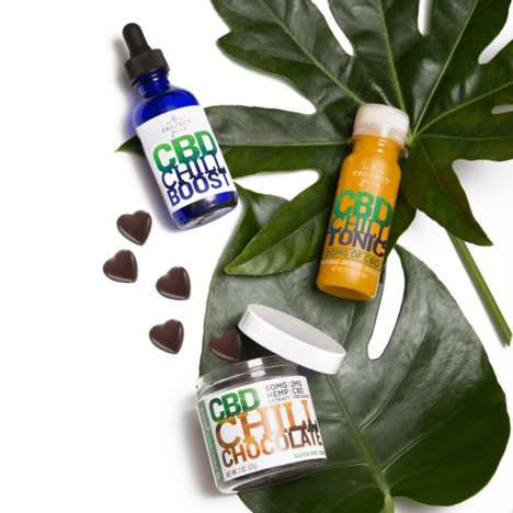 CBD-Infused Juice Shots