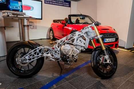 3D-Printed Superbike Frames
