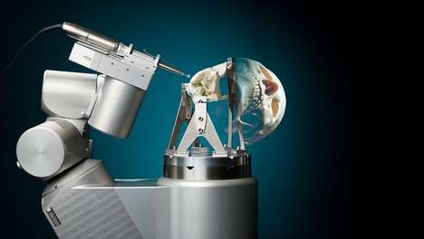 Skull-Drilling Surgical Robots - This Robot Offers Safe and Precise Assistance For Cranial Surgeries