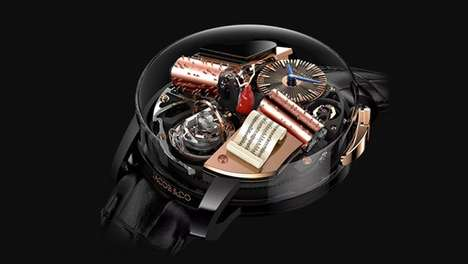 Music-Emitting Luxury Watches