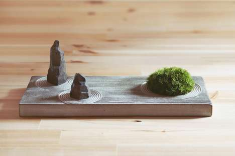 Stress-Reducing Miniature Gardens