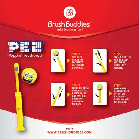 Candy-Inspired Toothbrushes
