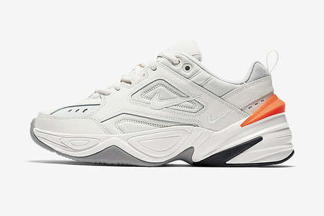 Chunky Neon-Accented Sneakers