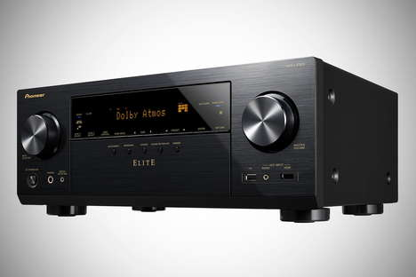 Optimized Audio-Visual Receivers - This Receiver Calibrates Its Settings to Its Specific Environment
