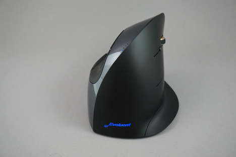Ergonomic Wireless Peripherals - This Vertical Wireless Mouse Relieves Pressure on Your Wrist