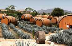 Tequila Barrel Sleeping Pods