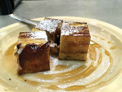Brick-Shaped French Toast