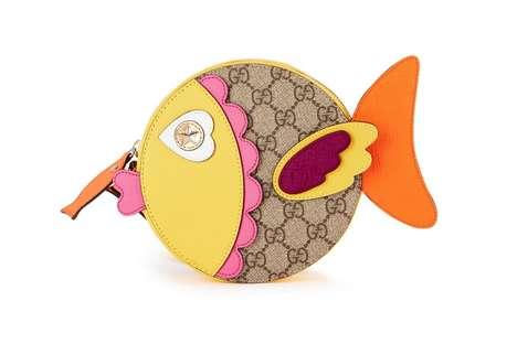 Luxury Fish-Shaped Purses