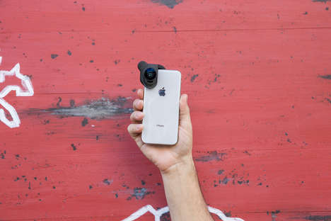 Amplified Smartphone Lenses