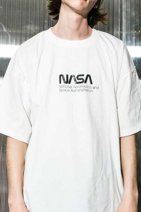 Space-Inspired T-Shirt Capsules