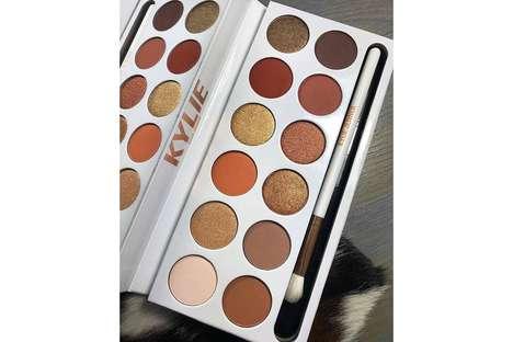 Bronzed Eye Shadow Palettes