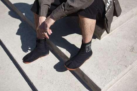 Japan-Inspired Split-Toe Shoes